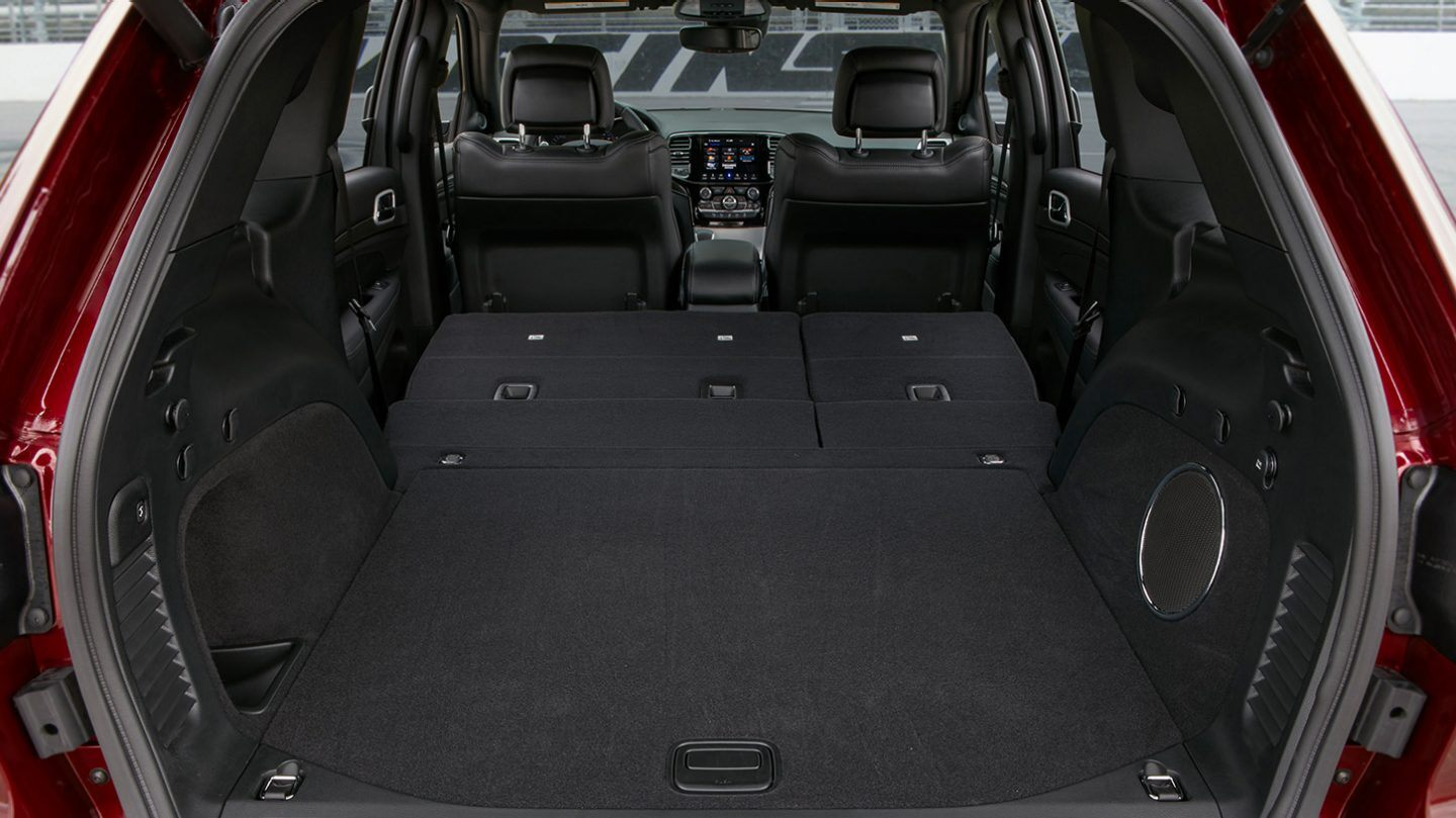 Cargo Space in the 2020 Grand Cherokee