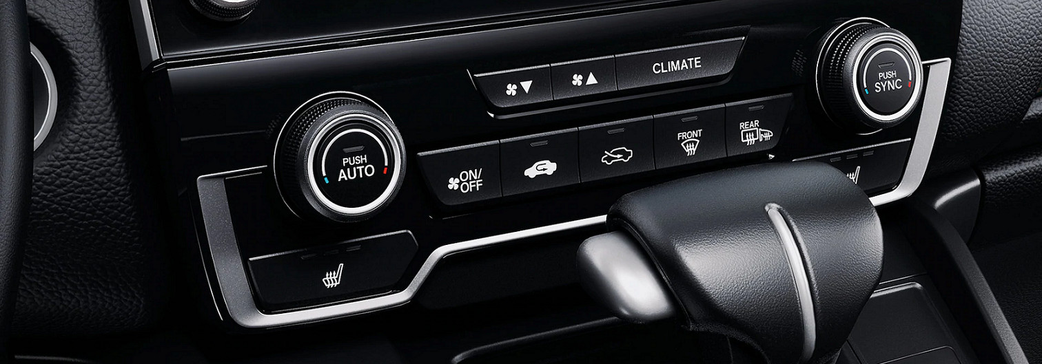 Climate Controls in the 2020 CR-V