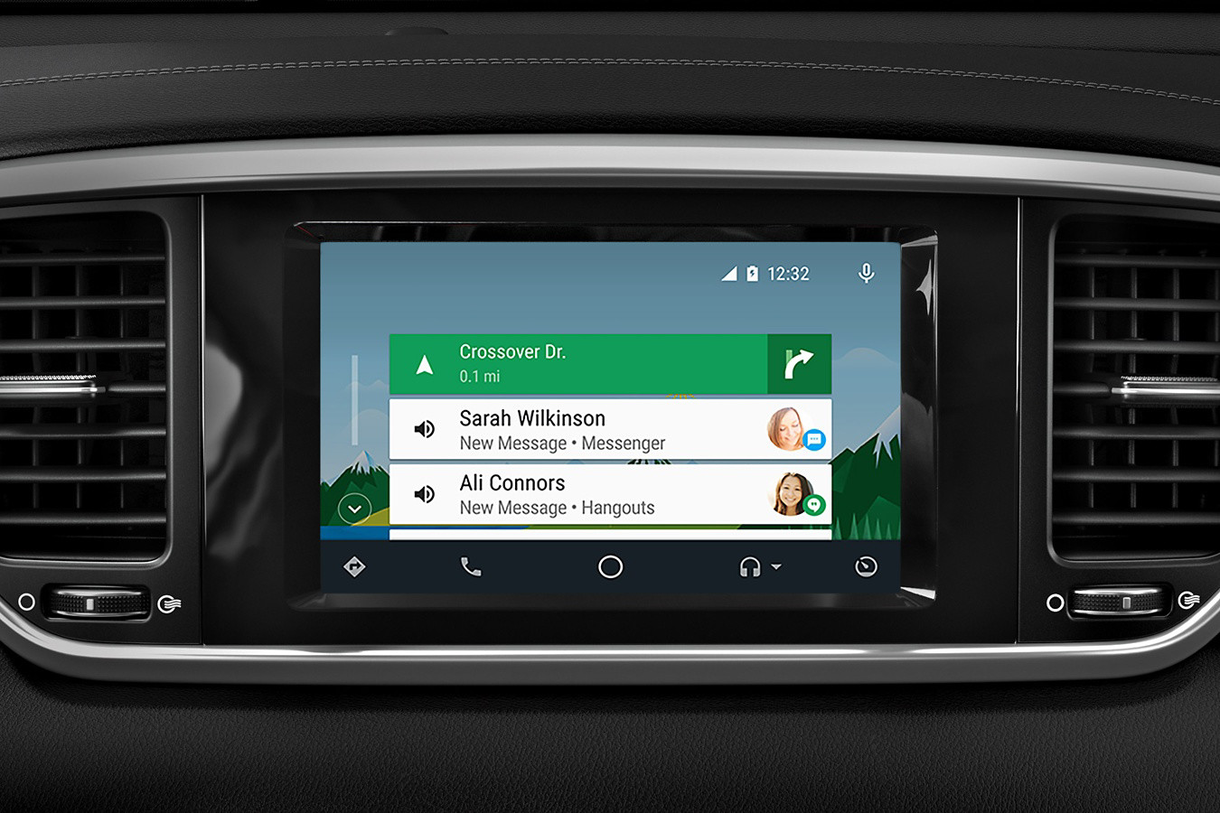 Standard Android Auto™ in the 2020 Sportage