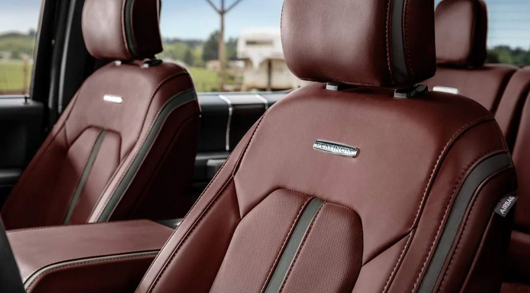 Luxurious Upholstery in the 2019 F-250 Super Duty