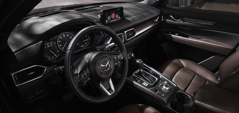 Tech-Loaded Interior of the 2020 Mazda CX-5