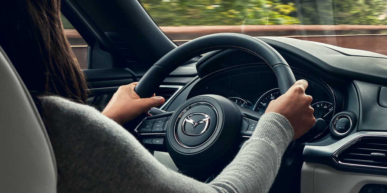 Steering Wheel in the 2020 Mazda CX-9