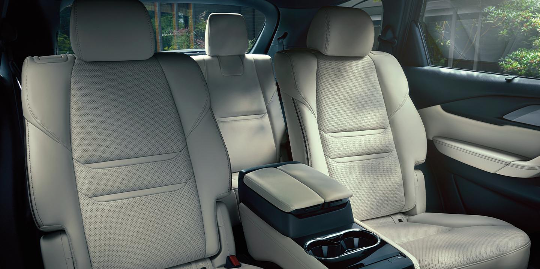 Spacious Interior of the 2020 Mazda CX-9