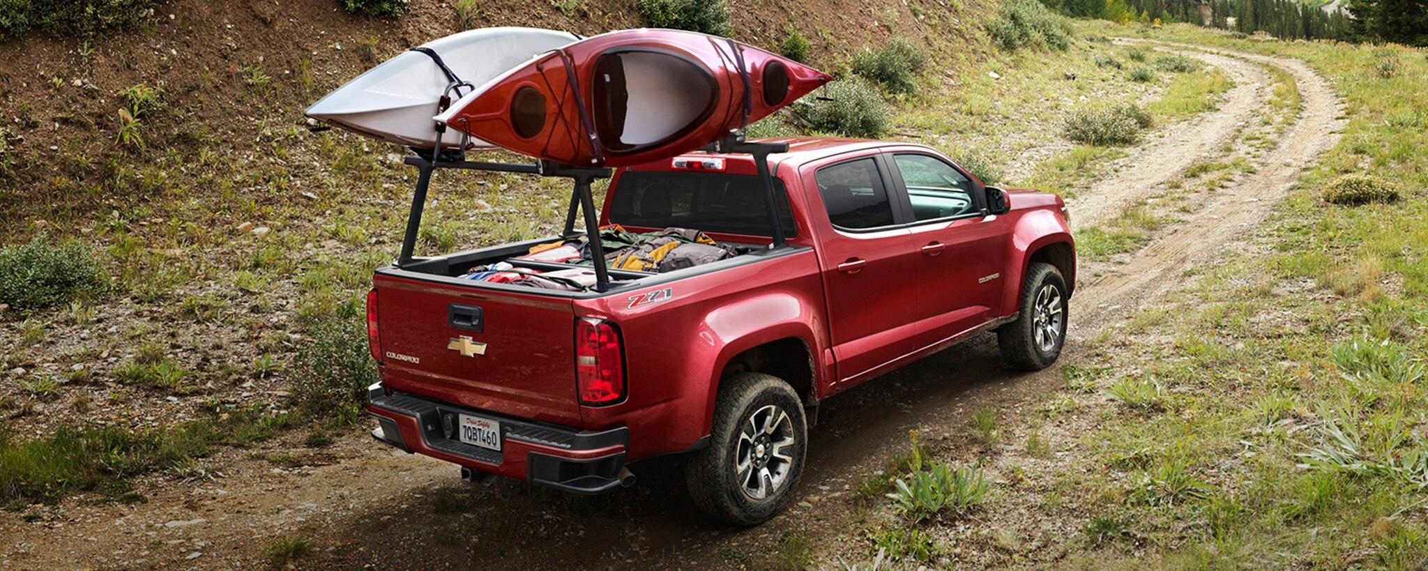 Vive divertidas aventuras a bordo de tu Chevy Colorado 2020.