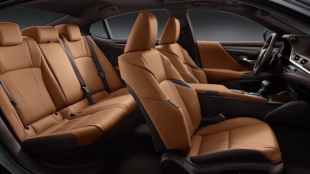 The Spacious Interior of the 2020 Lexus ES 350