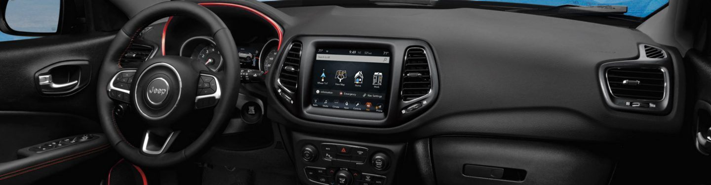 2020 Jeep Compass Dashboard