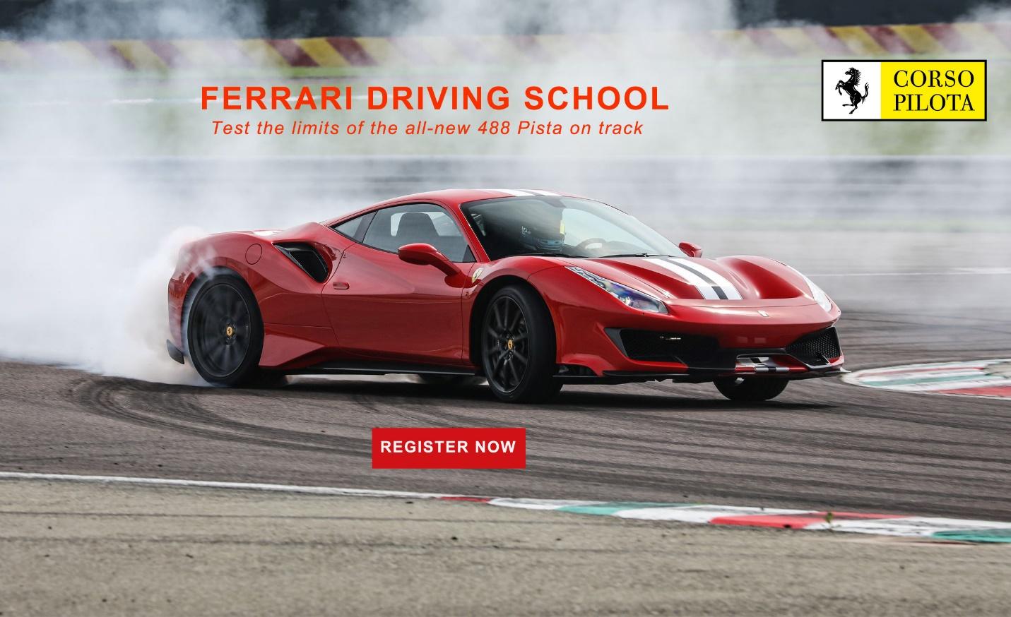 Ferrari-Driving