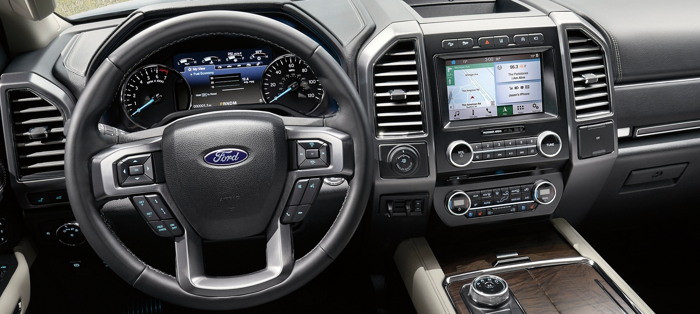 2019 Ford Expedition Driver's View