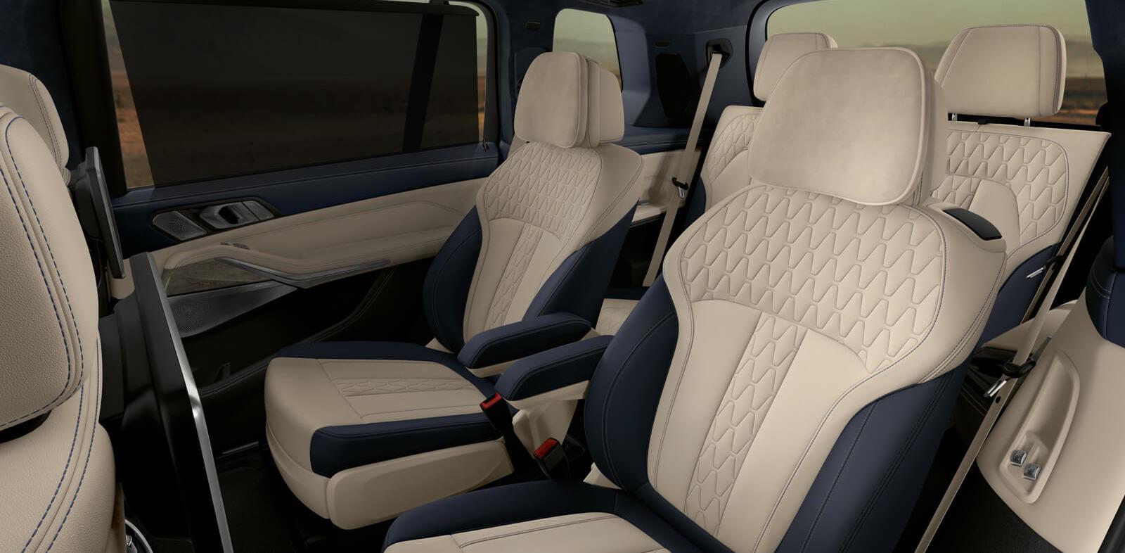 2020 BMW X7 Interior Seating