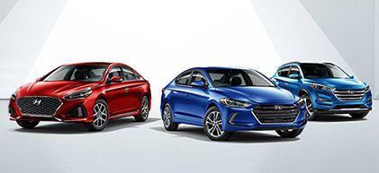 New Hyundai Vehicles