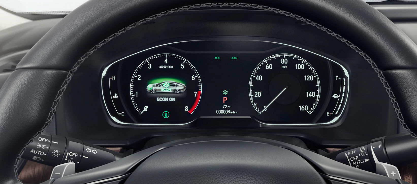 Instrument Panel of the 2020 Accord