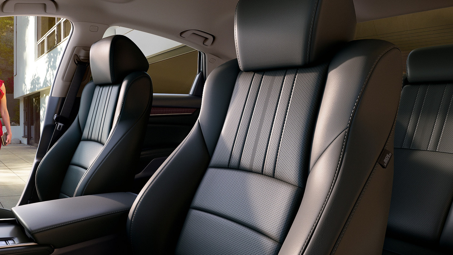 Cozy Seats in the 2020 Accord