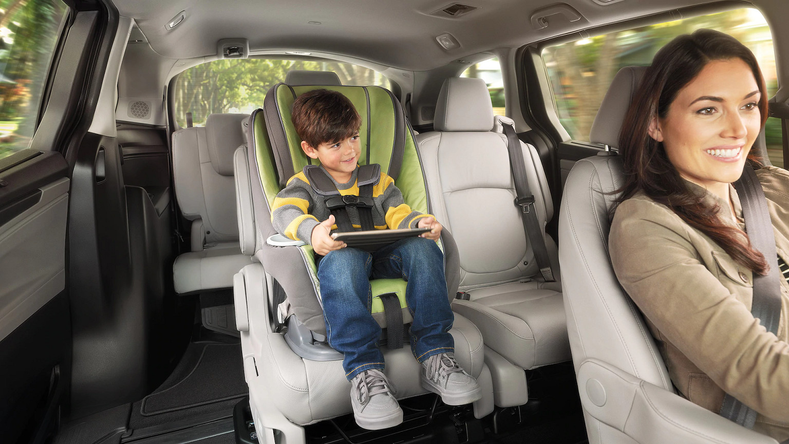 Family-Friendly Tech in the 2020 Honda Odyssey