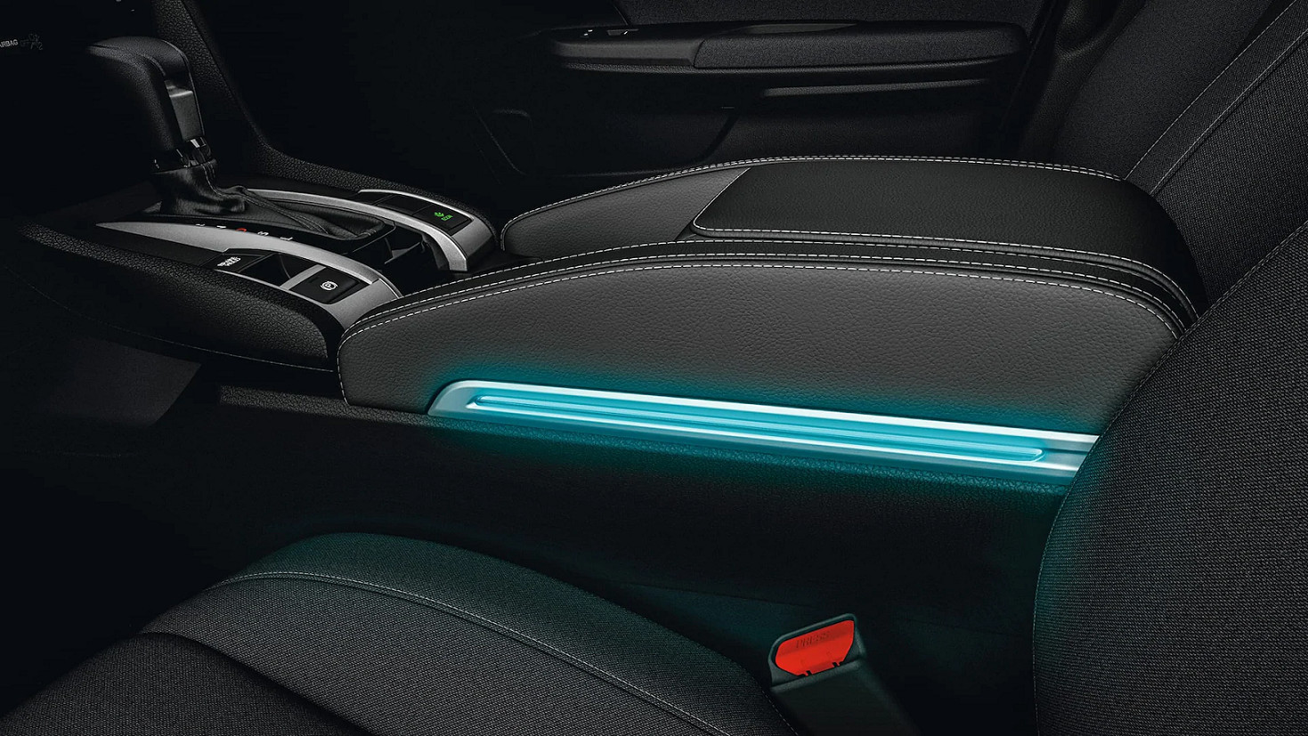 Eye-Catching Accents in the 2020 Honda Civic