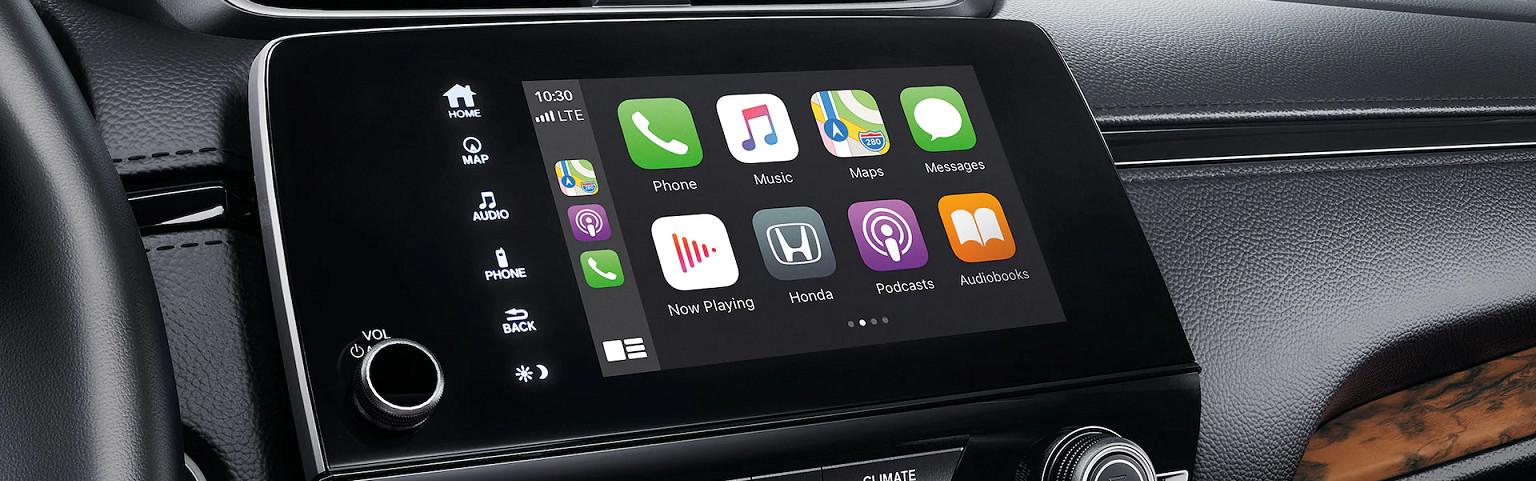 Apple CarPlay™ in the 2020 CR-V