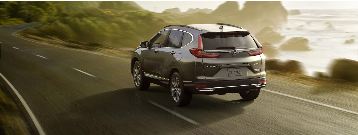Stylish Exterior of the 2020 Honda CR-V Hybrid