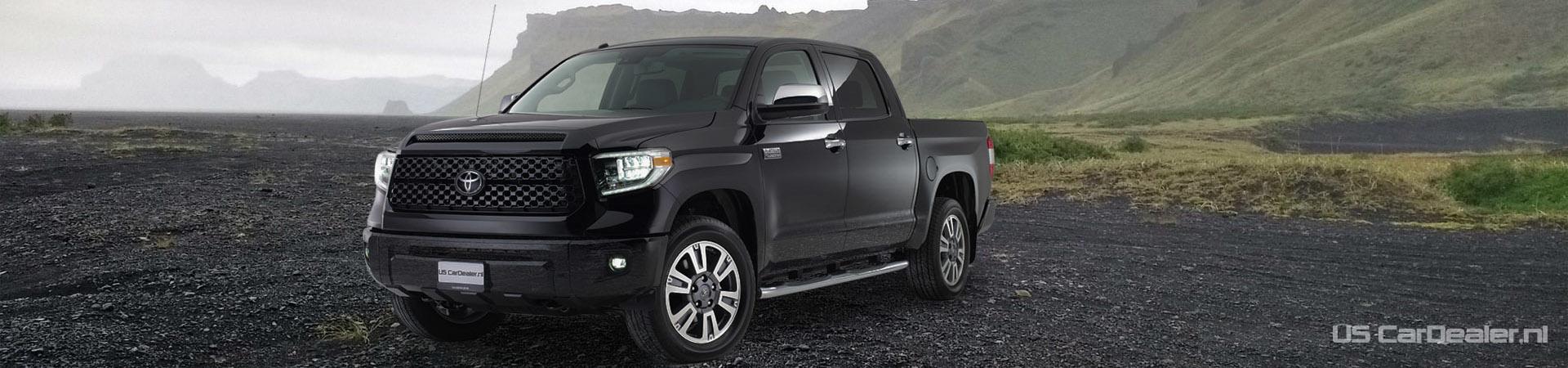 Banner Toyota Tundra zwart | Auto Kardol