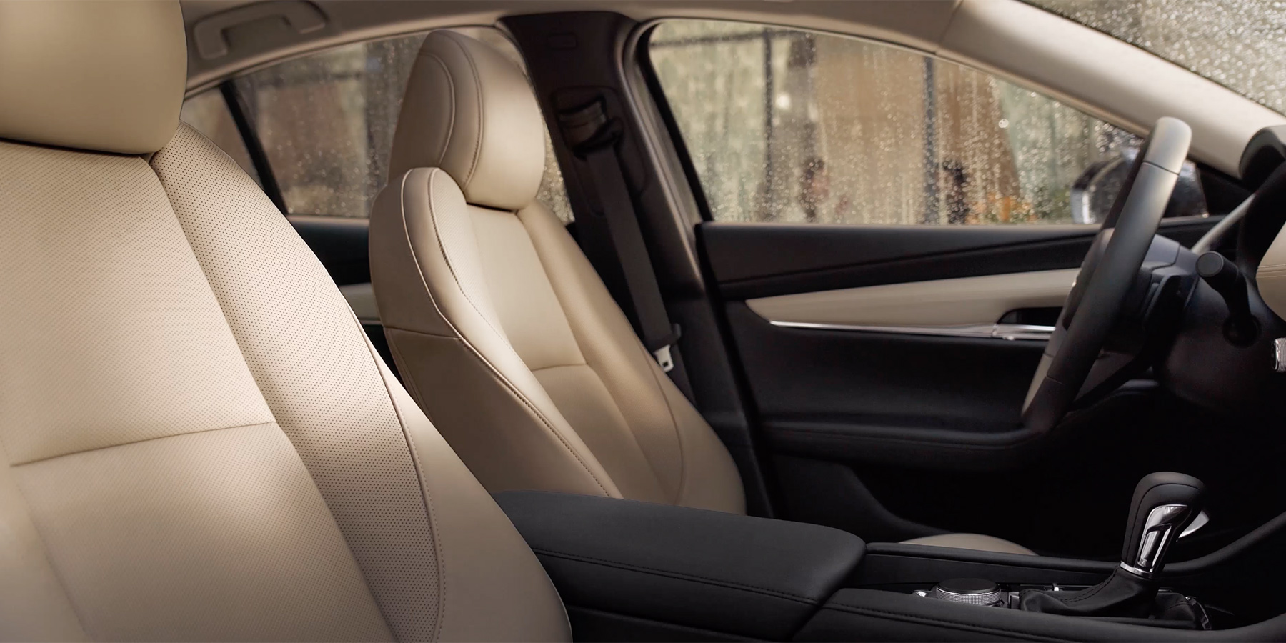 Cozy Seats in the 2020 Mazda3 Sedan