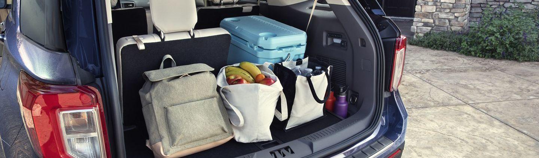 2020 Ford Explorer Cargo Space