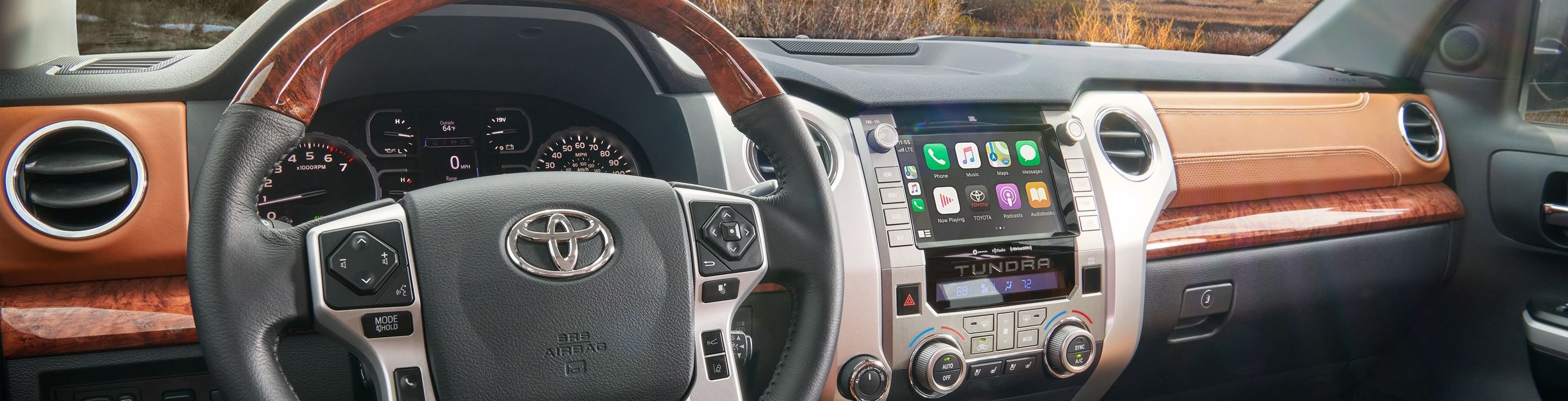 2020 Toyota Tundra Apple CarPlay®