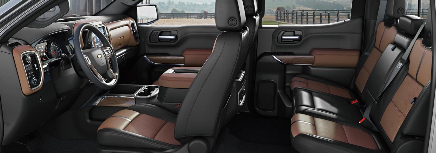 2020 Chevrolet Silverado 1500 Seating