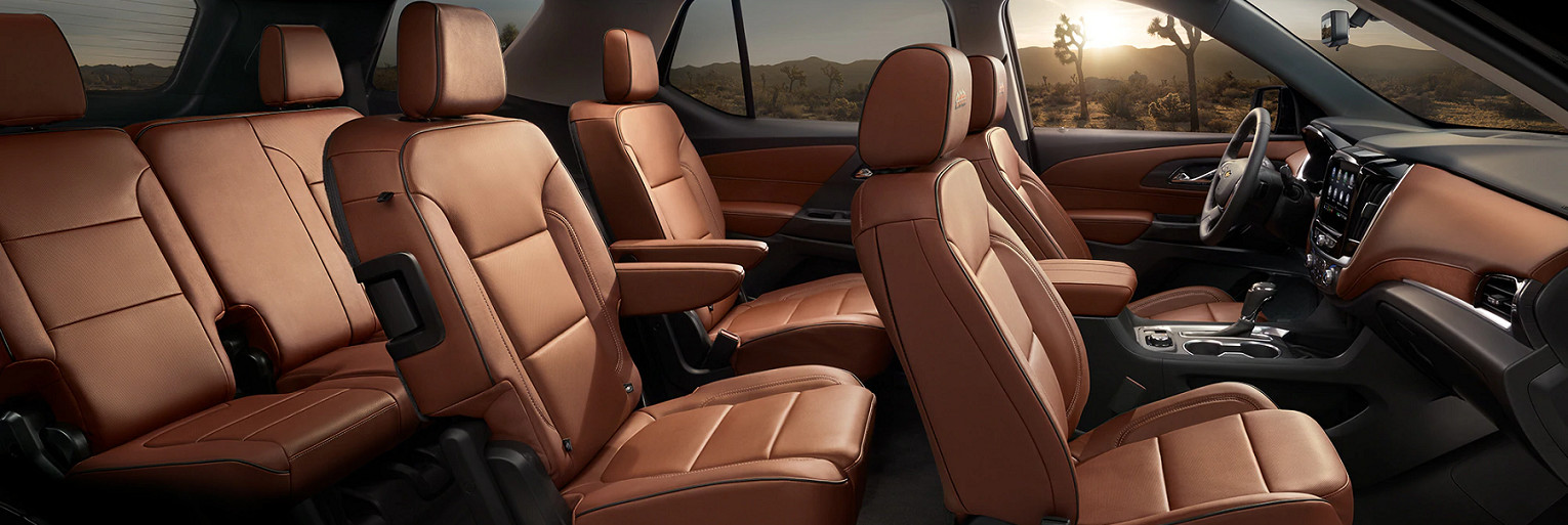 Refined Cabin of the 2020 Traverse