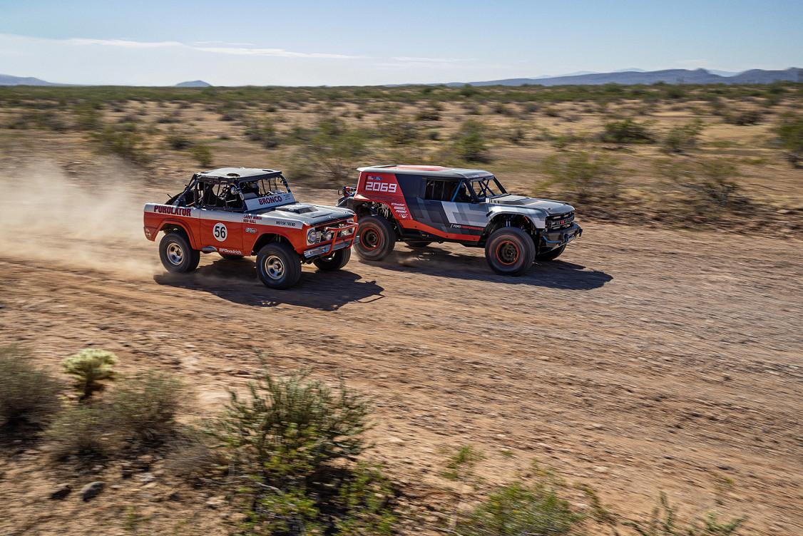 Broncos Past and Present Meet at Baja 1000