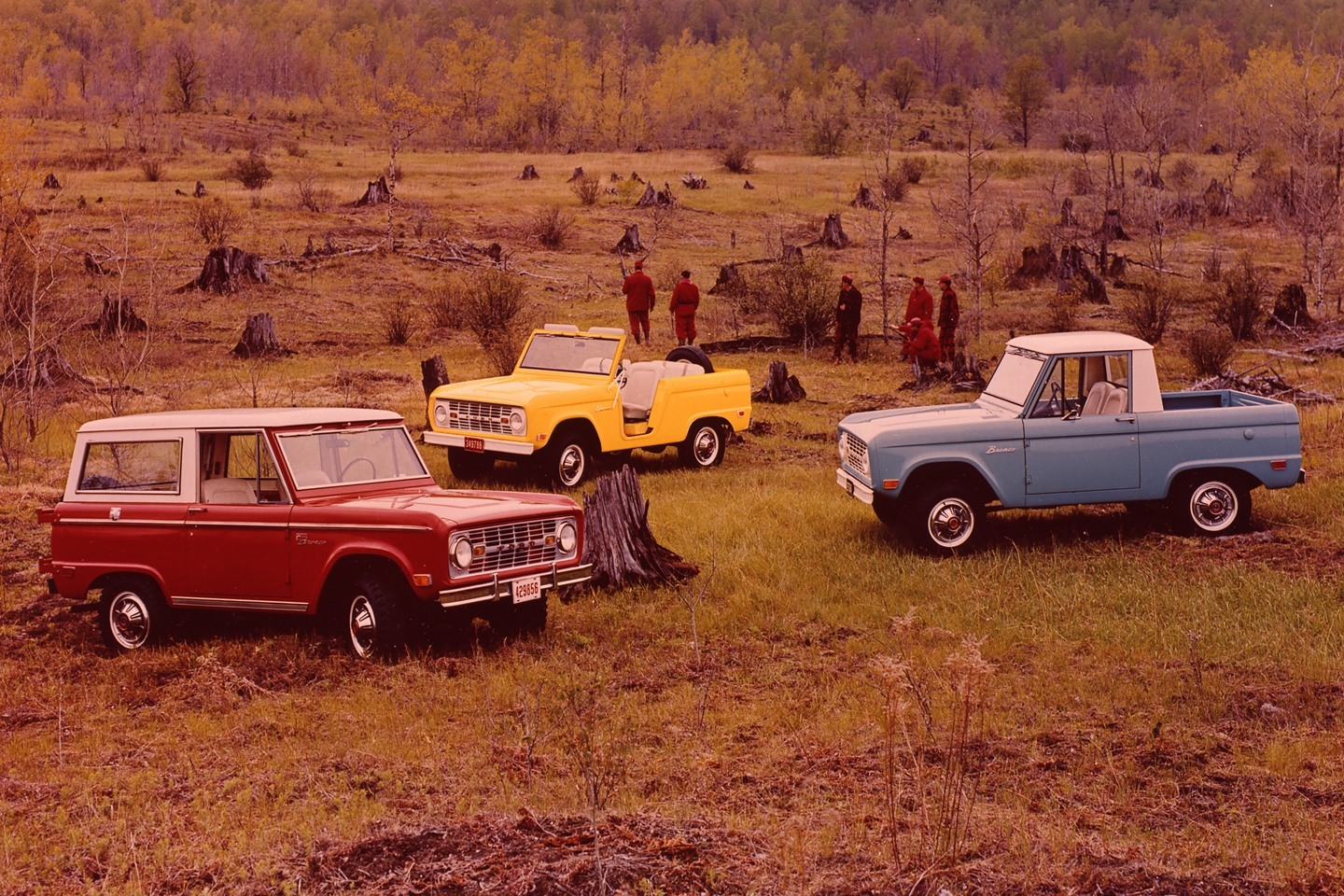 1969 Ford Bronco Lineup