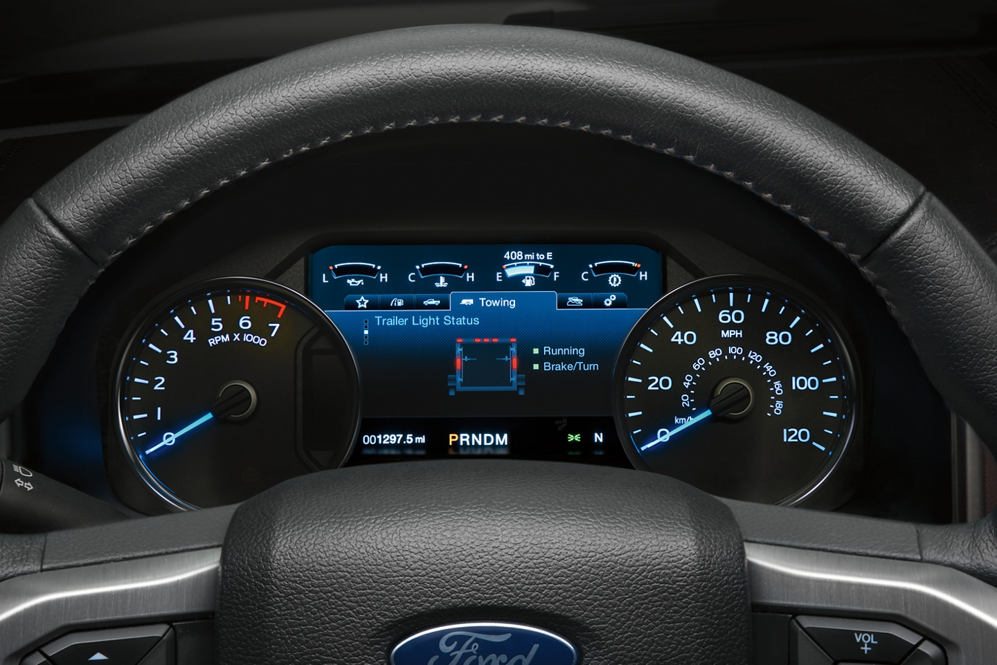 Instrument Panel in the 2020 F-150