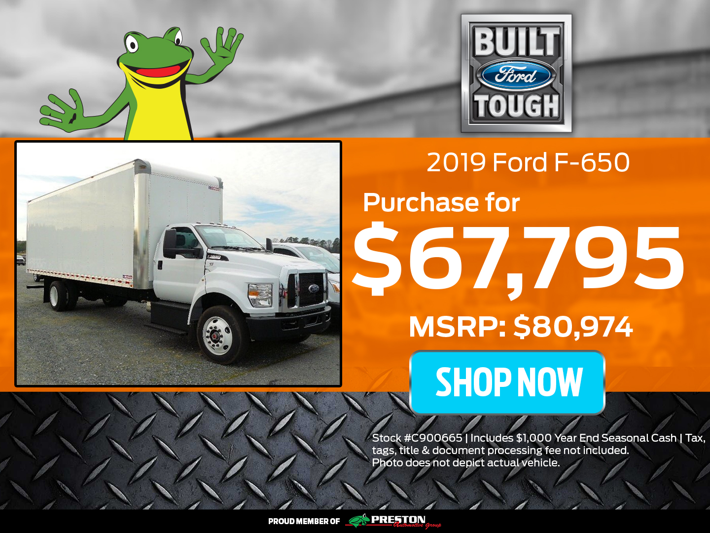 2019 Ford F650