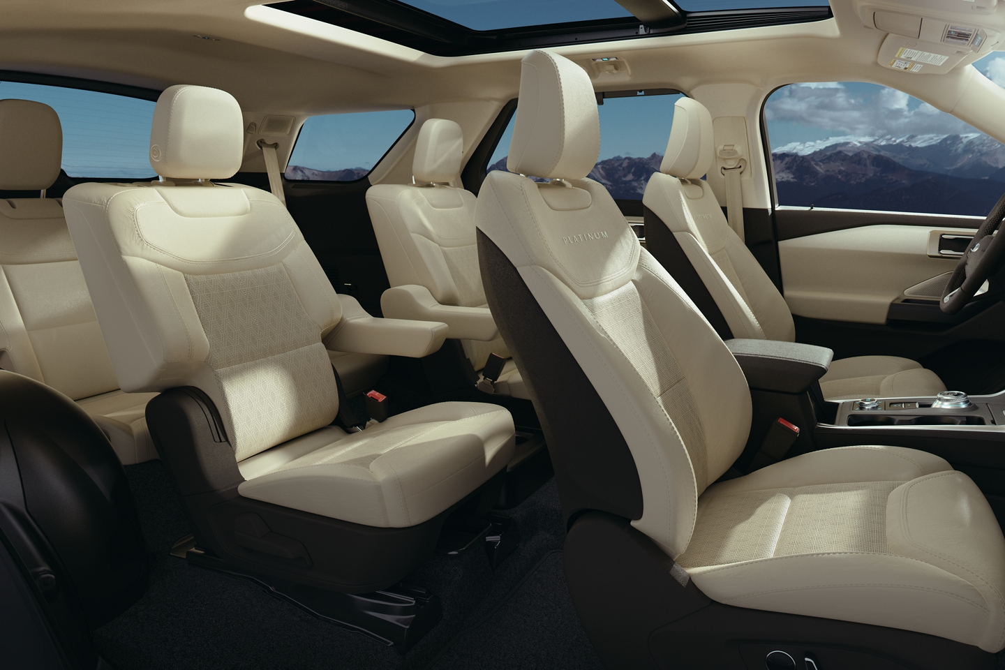 Ample Room in the 2020 Explorer