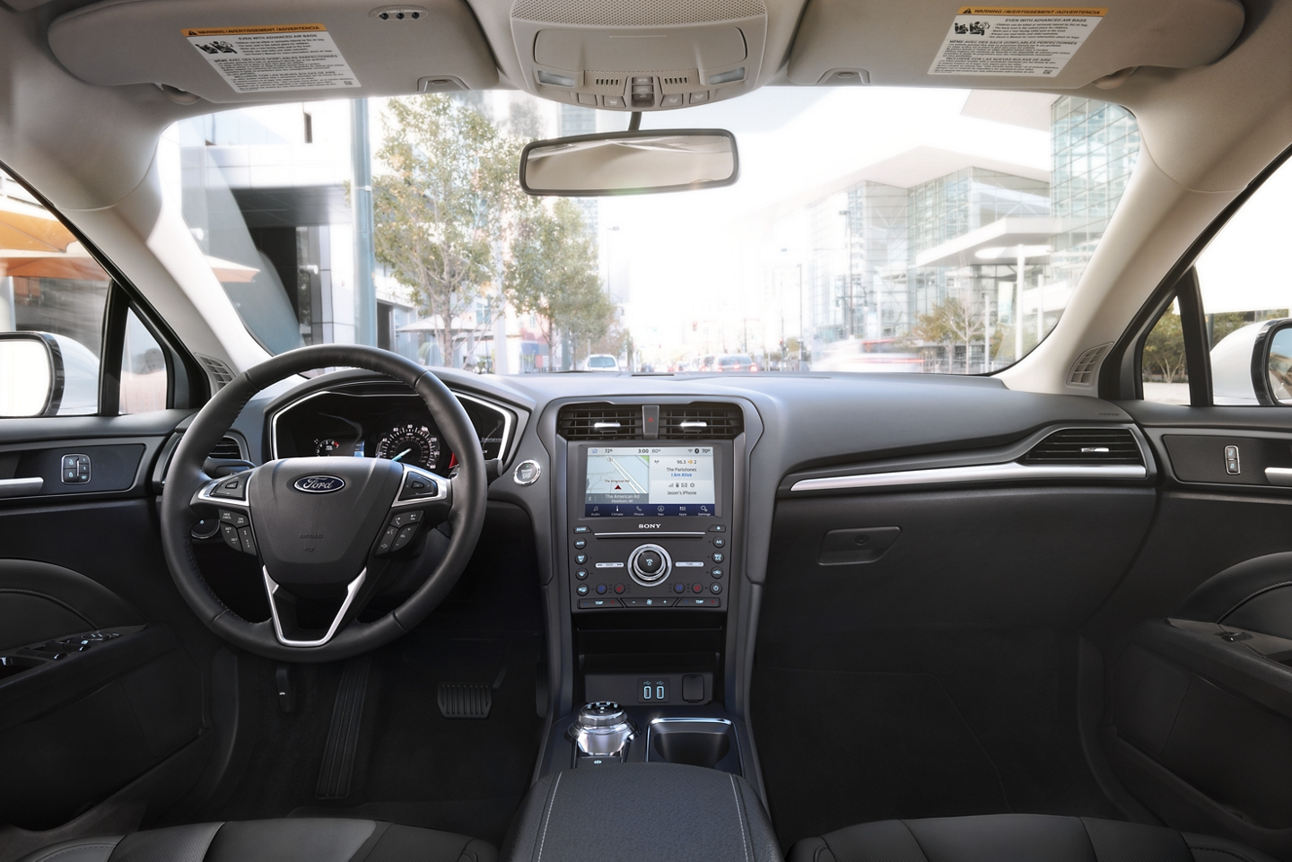 Tech-Loaded Cabin of the 2020 Ford Fusion