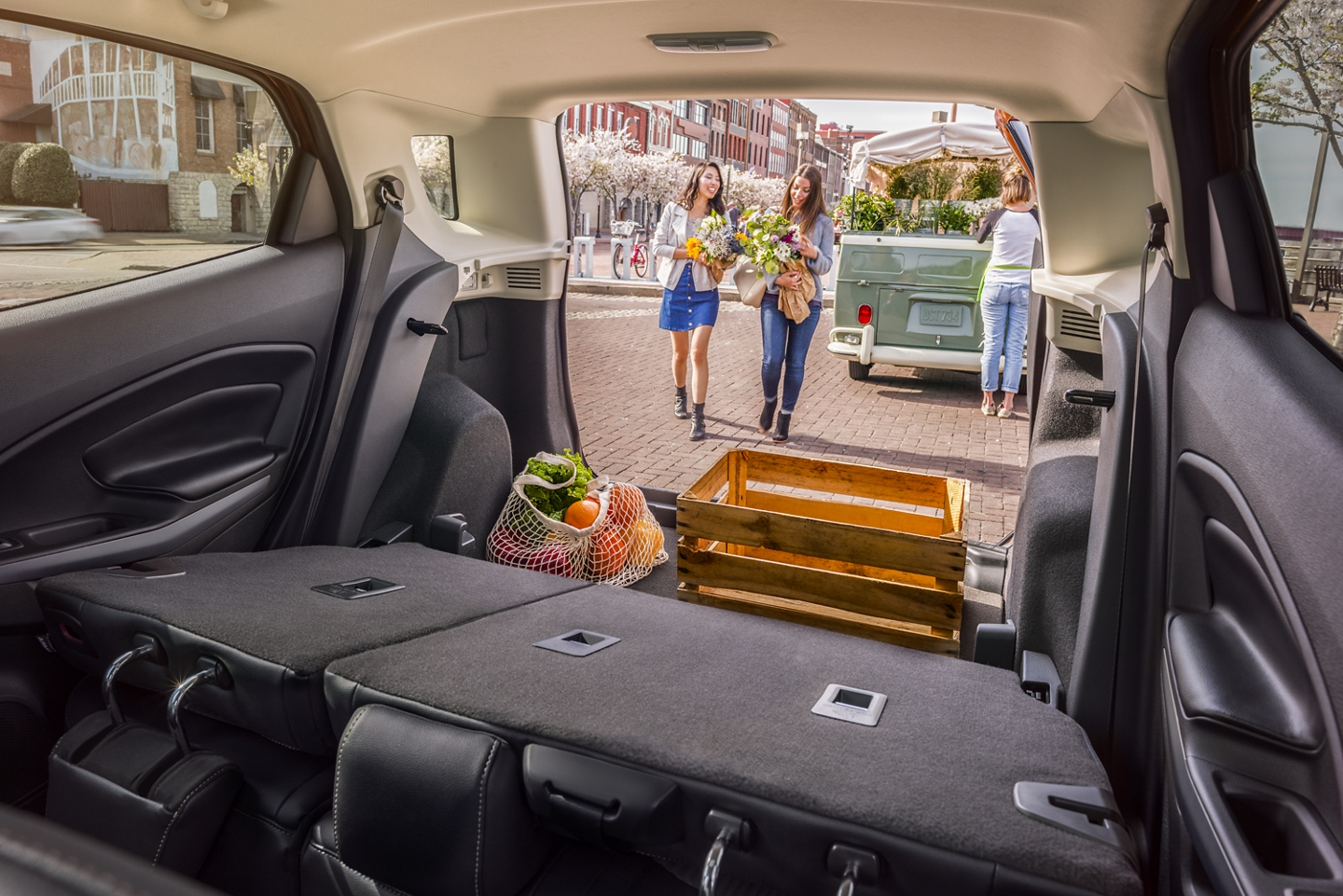 Plenty of Storage in the 2020 EcoSport