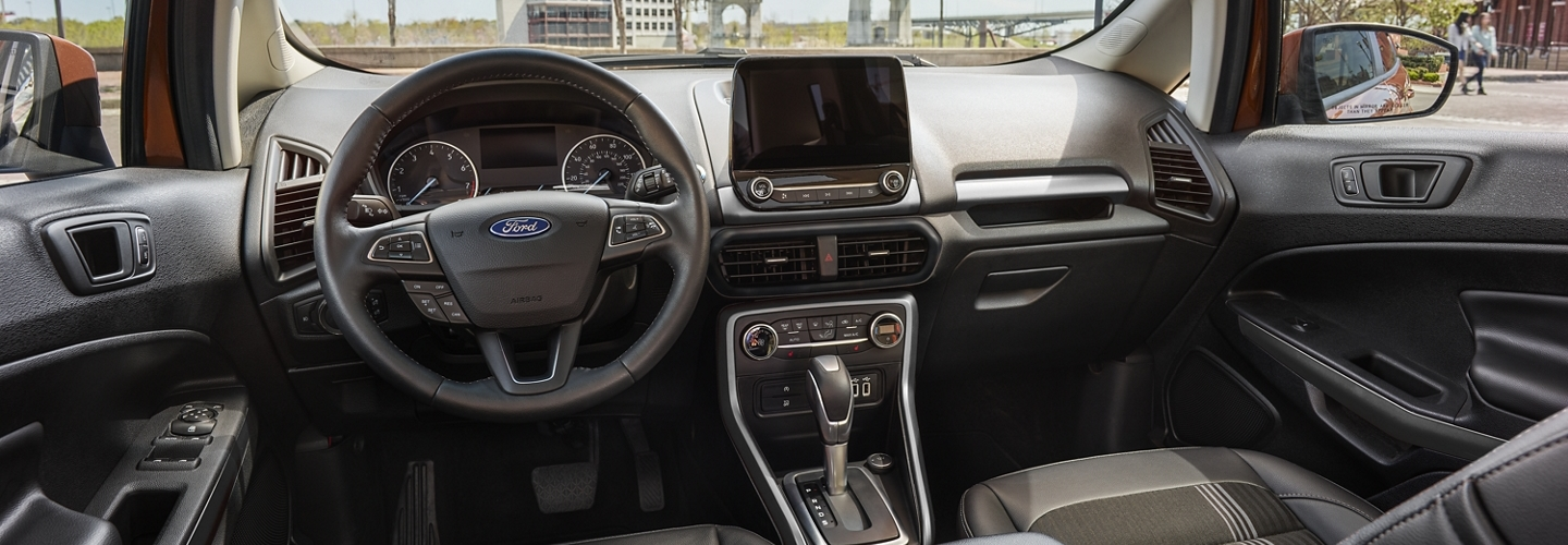 Advanced Cabin of the 2020 Ford EcoSport