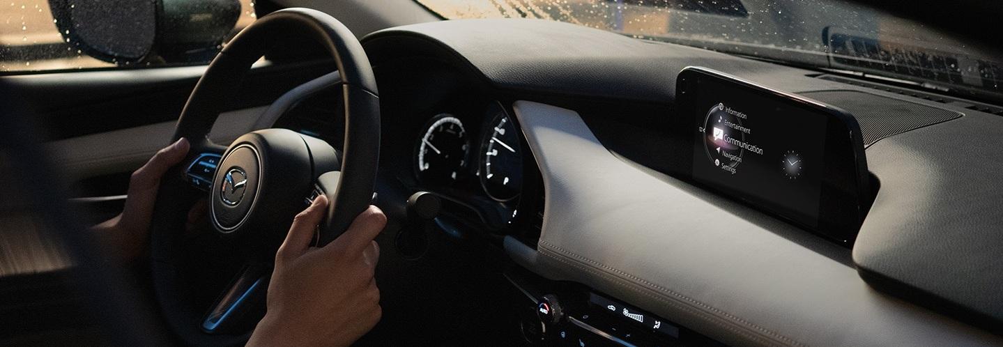The High-Tech Interior of the 2020 Mazda3 Sedan