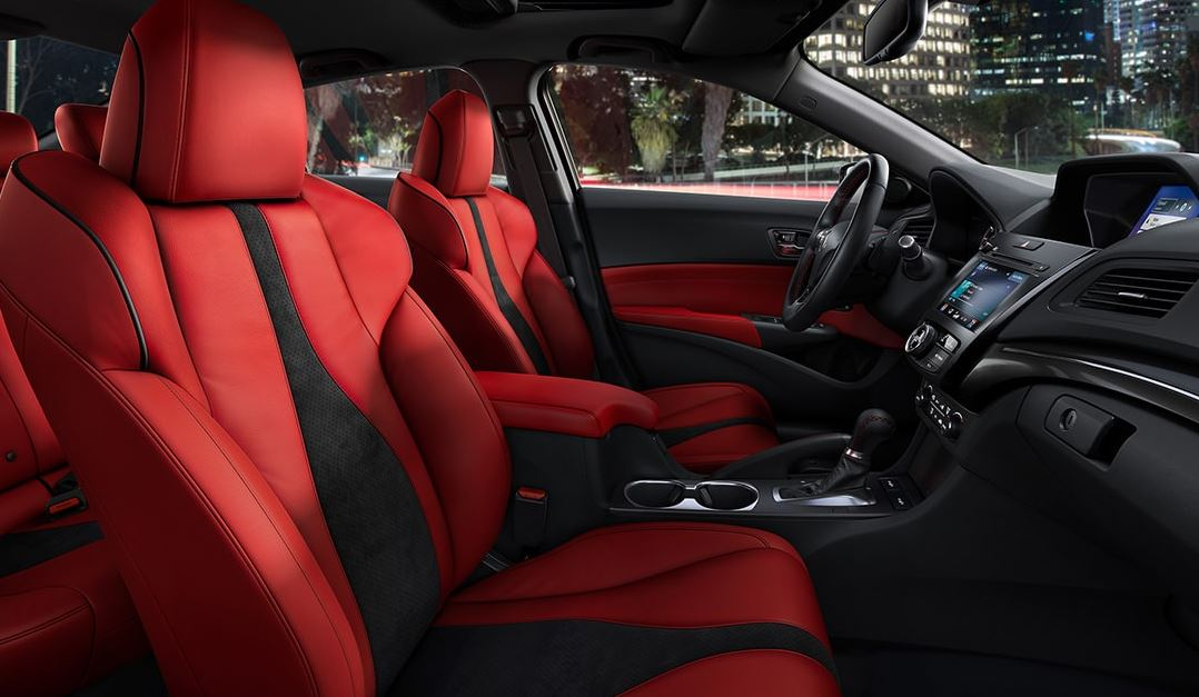 Interior of the 2020 ILX