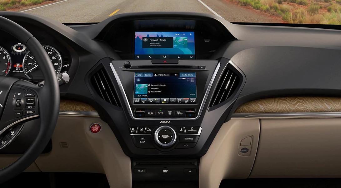 Interior of the 2020 Acura MDX