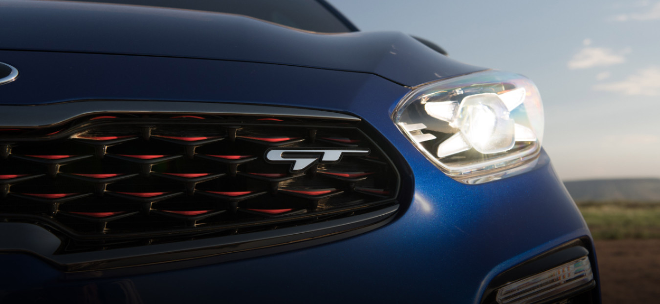 2020 Kia Forte GT-Exclusive Grille