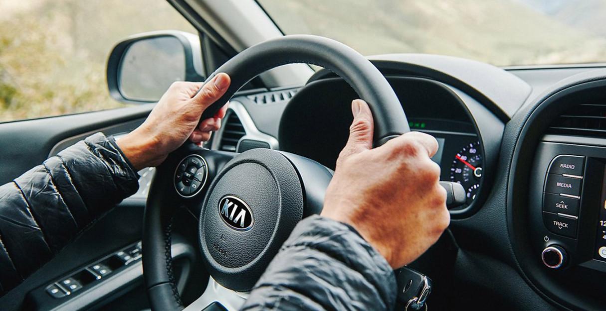 Steering Wheel of the 2020 Kia Soul