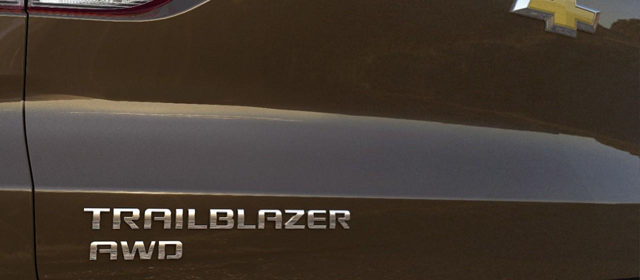 Exterior of the 2021 Trailblazer