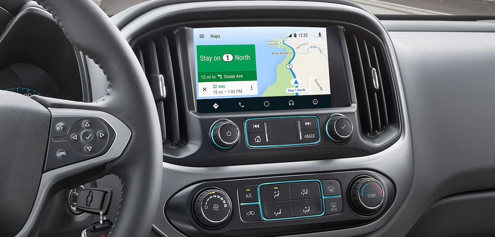 Technology in the 2020 Chevy Colorado