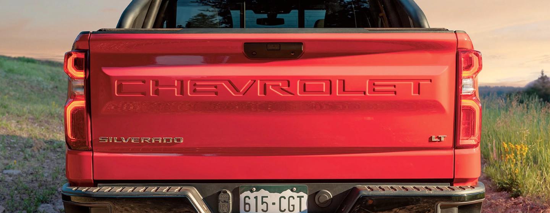 2020 Chevy Silverado 1500 Tailgate