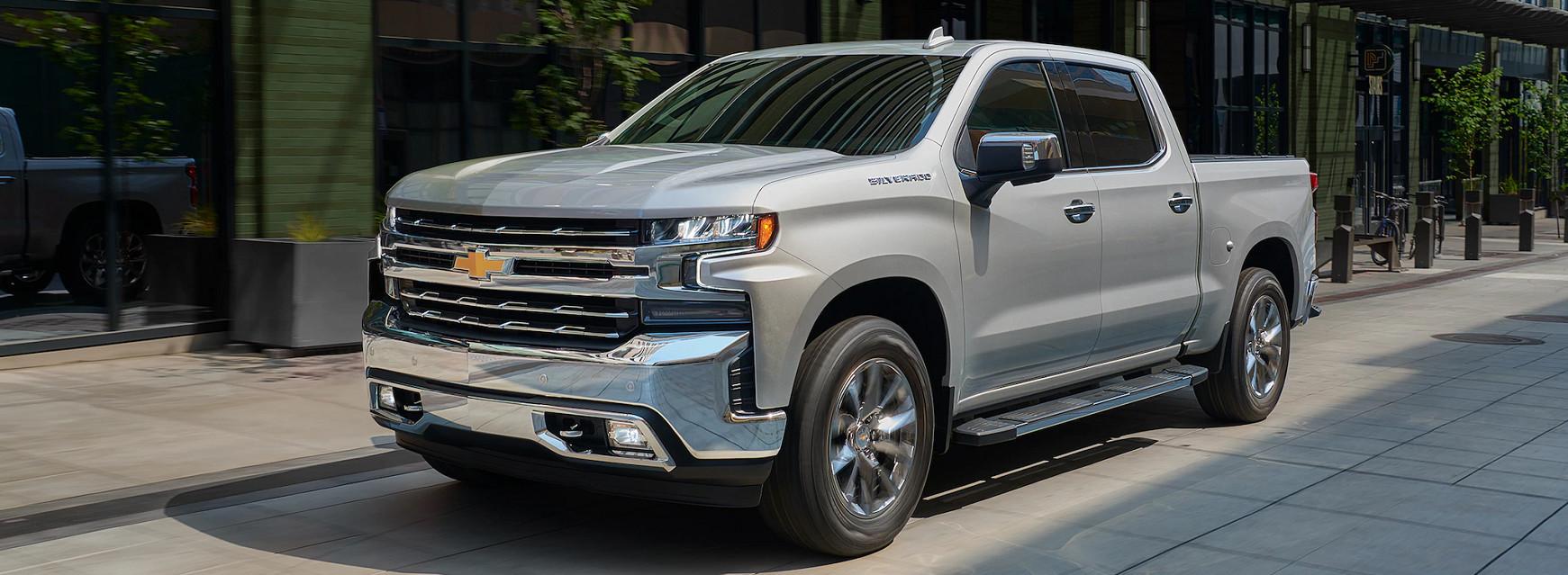 2020 Chevrolet Silverado 1500 Trim Levels near North County, CA