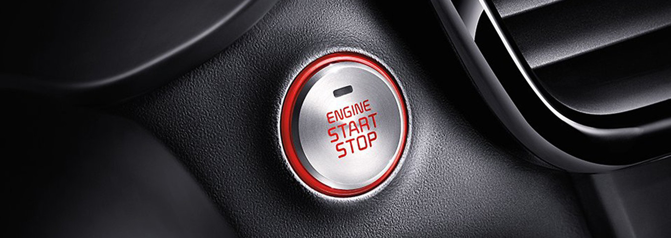 Push Button Start in the 2020 Optima