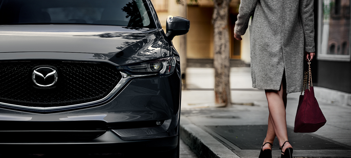Striking Grille of the 2020 Mazda CX-5