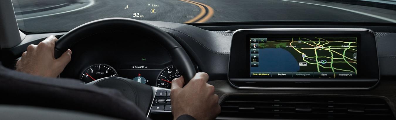 2020 Kia Telluride Navigation Technology