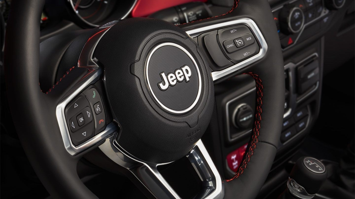 2020 Jeep Wrangler Unlimited Steering Wheel
