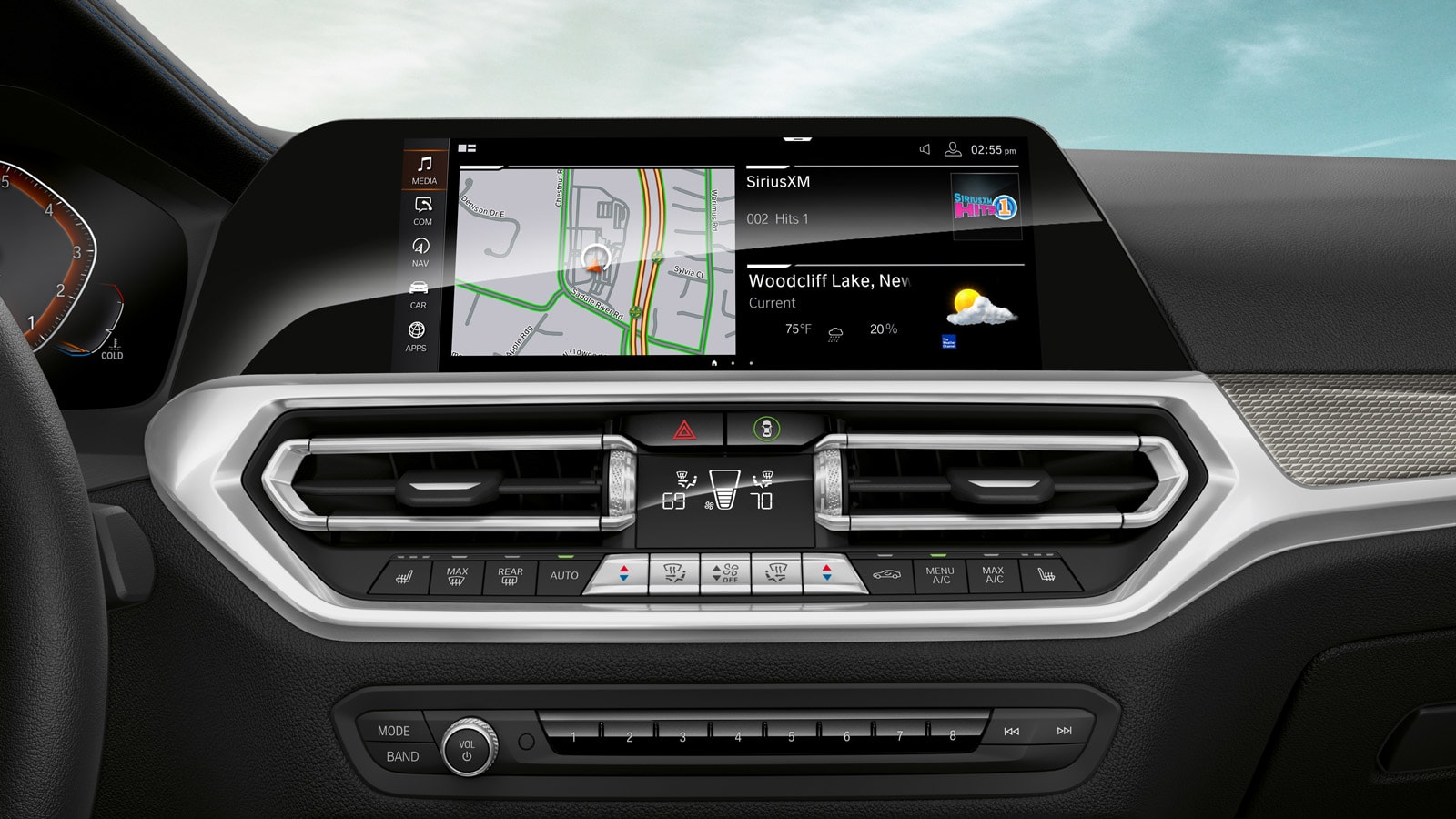 Touchscreen in the 2020 3 Series