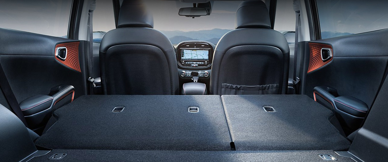 Cargo Space in the 2020 Kia Soul