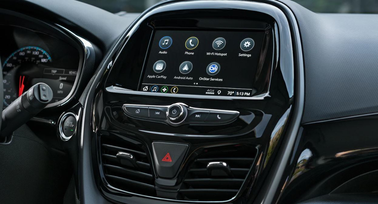 Touchscreen in the 2020 Spark